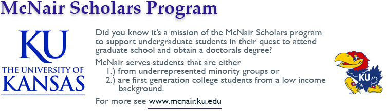 McNair Scholars Program, University of Kansas