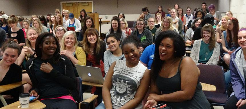 WGSS 321/HIST 321 Mystics to Feminists, Dr. Vicente's class, Spr 2015